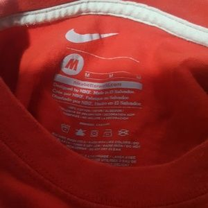 Nike Shirts & Tops - Boys red nike tshirt size Medium